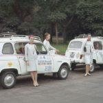 4 Elle: Fashion-Ladies auf großer Tour im Renault 4