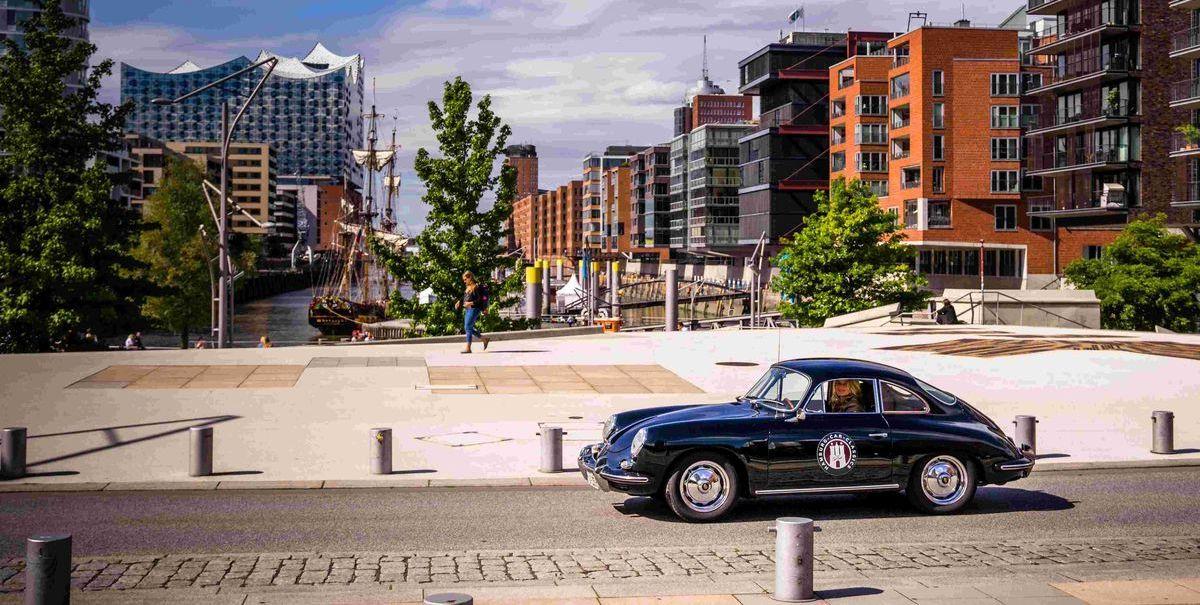 Die Hamburg Car Classics Oldtimer-Rallye startet durch