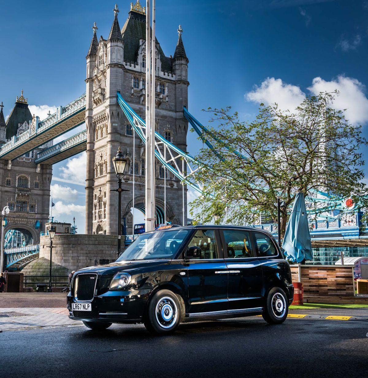 London EV Company TX e-City
