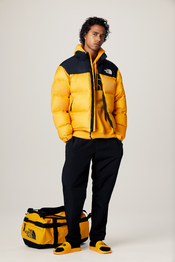 The North Face, Yellow Icons