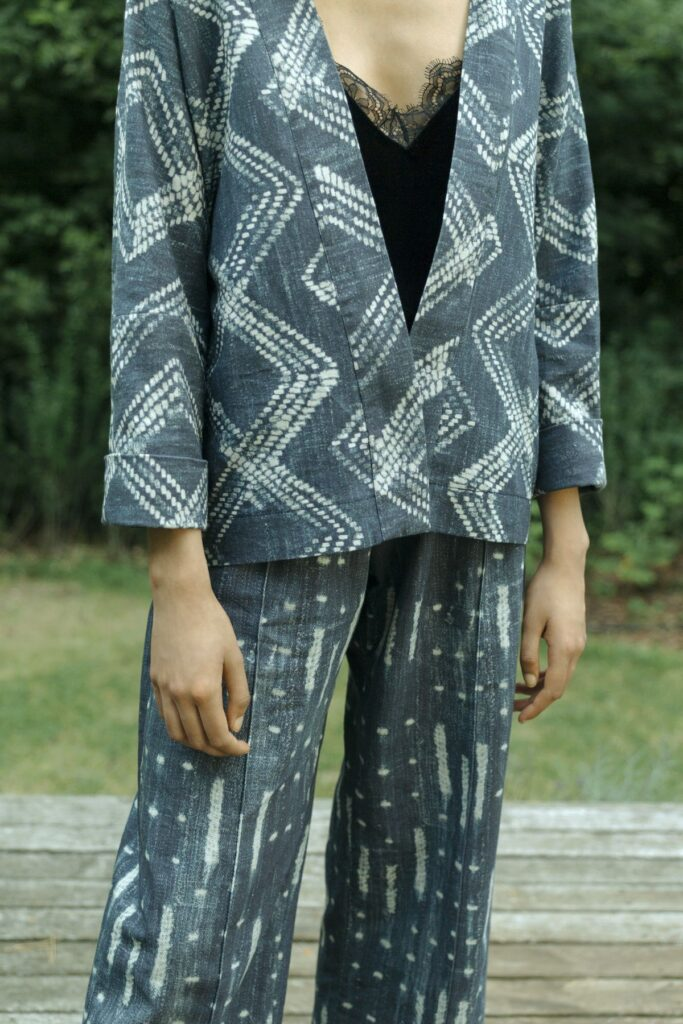 Der Zweiteiler_Bontje ist eine cool-elegante Alternative zu Jumpsuits und klassischen Hosenanzügen.