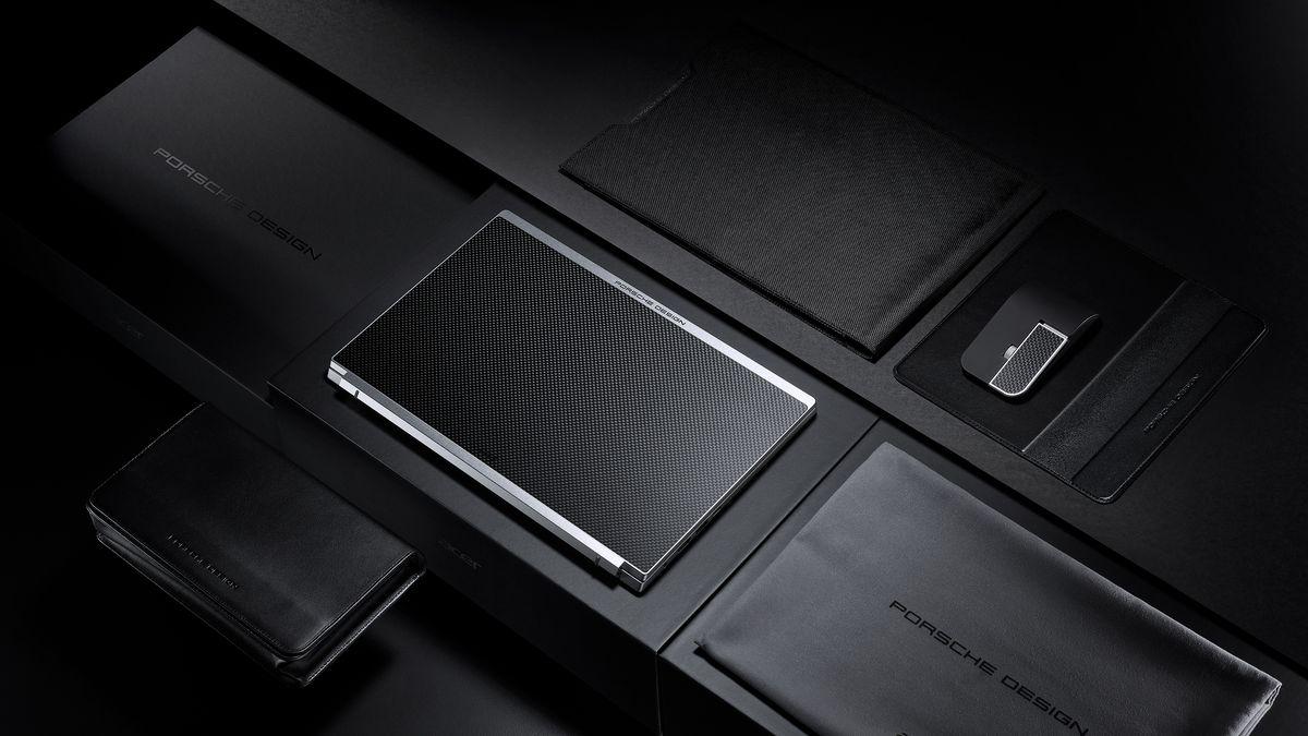Stylishes Notebook von Porsche Design und Acer
