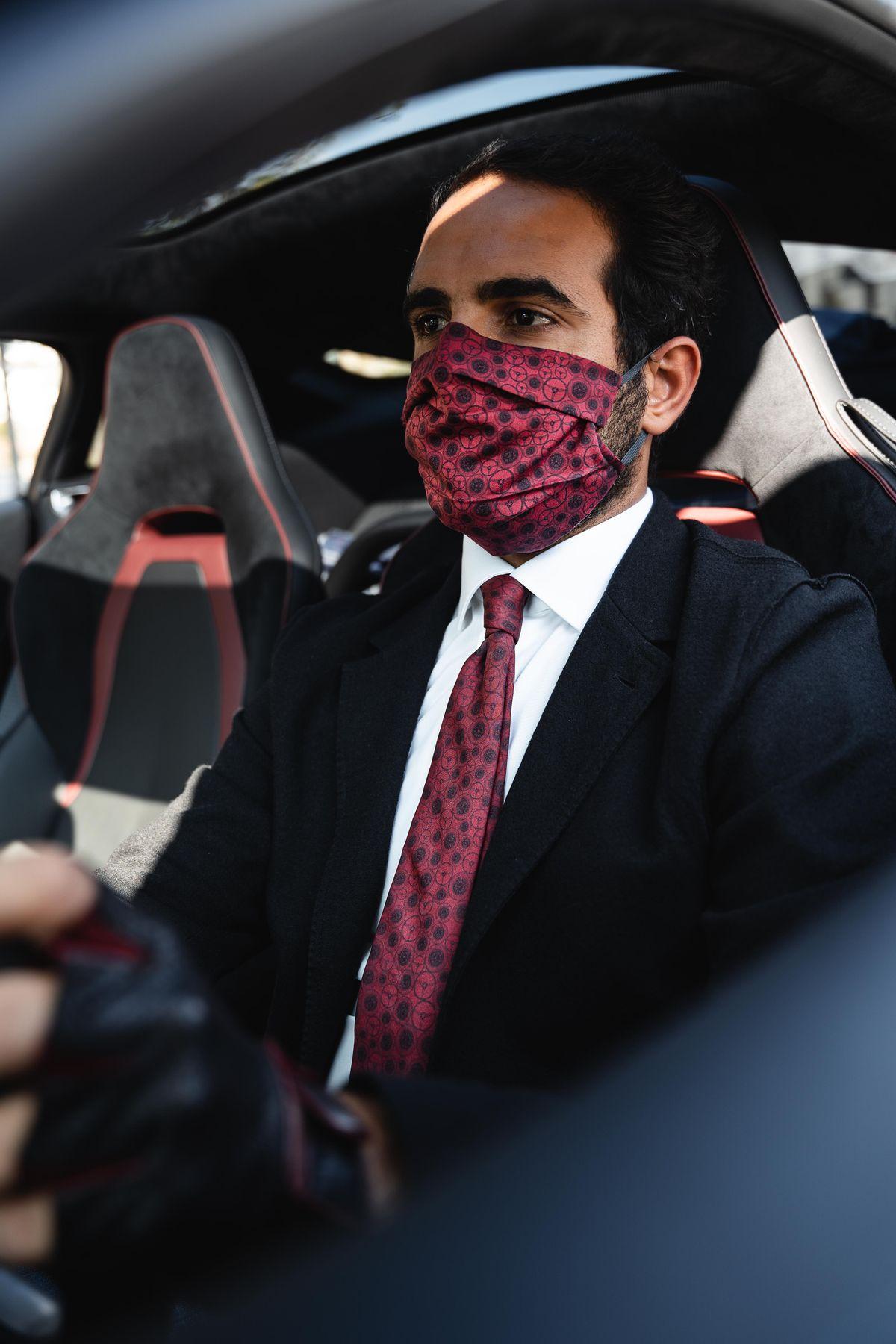 Mund-Nasen-Schutz von The Outlierman