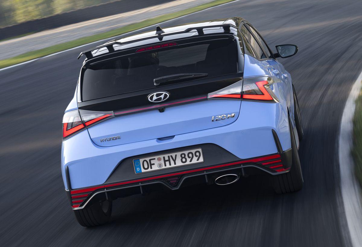 Kleinwagen-Doping im Hyundai i20 N