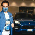 The Outlierman: Der Mund-Nasen-Schutz für Automobil-Enthusiasten