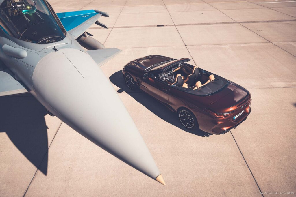 Eurofighter Typhoon, BMW M8 Cabriolet Competition