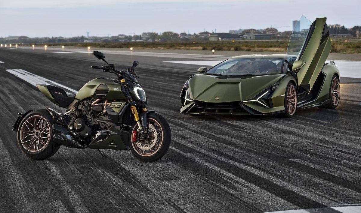 Ducati Diavel 1260 Lamborghini, Lamborghini Siàn FKP 37