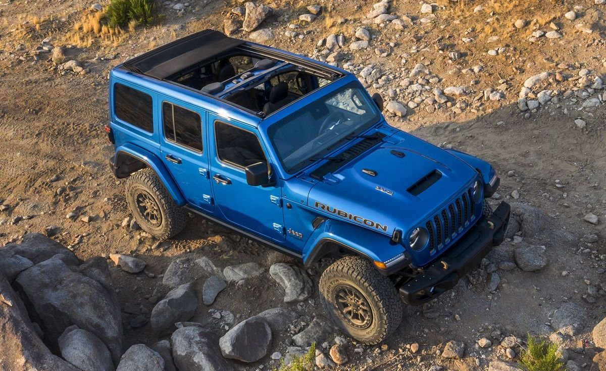 Jeep Wrangler Rubicon 392 (2021)