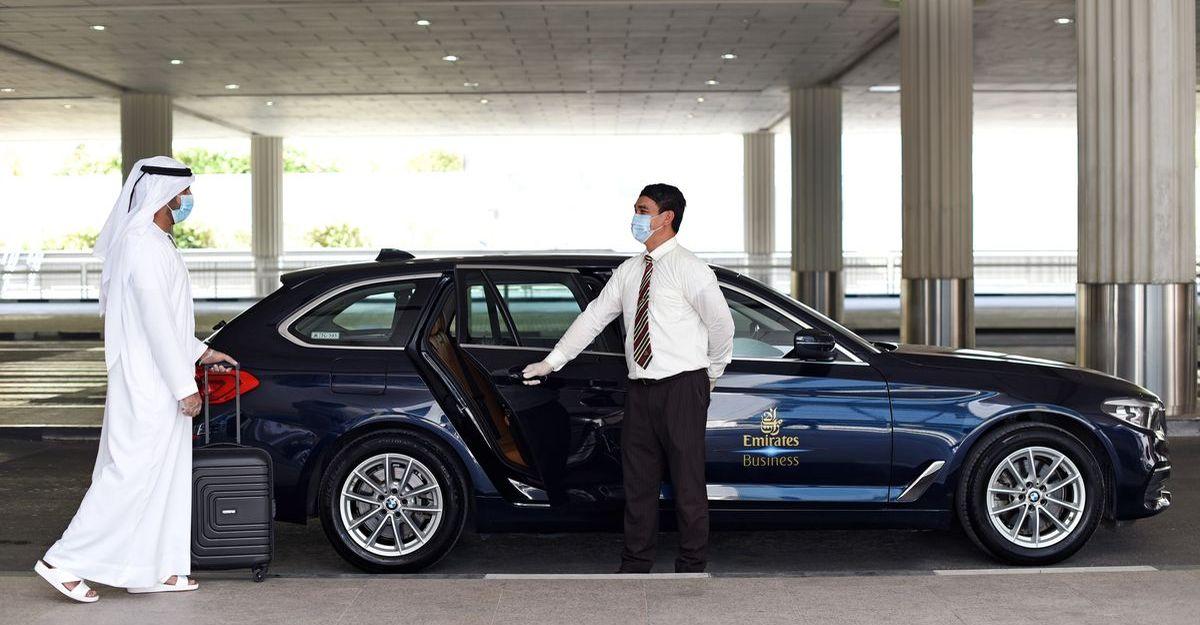 Emirates reaktiviert den Chauffeur-Service