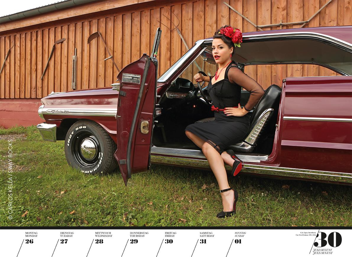Kalender Girls & Legendary US-Cars 2021