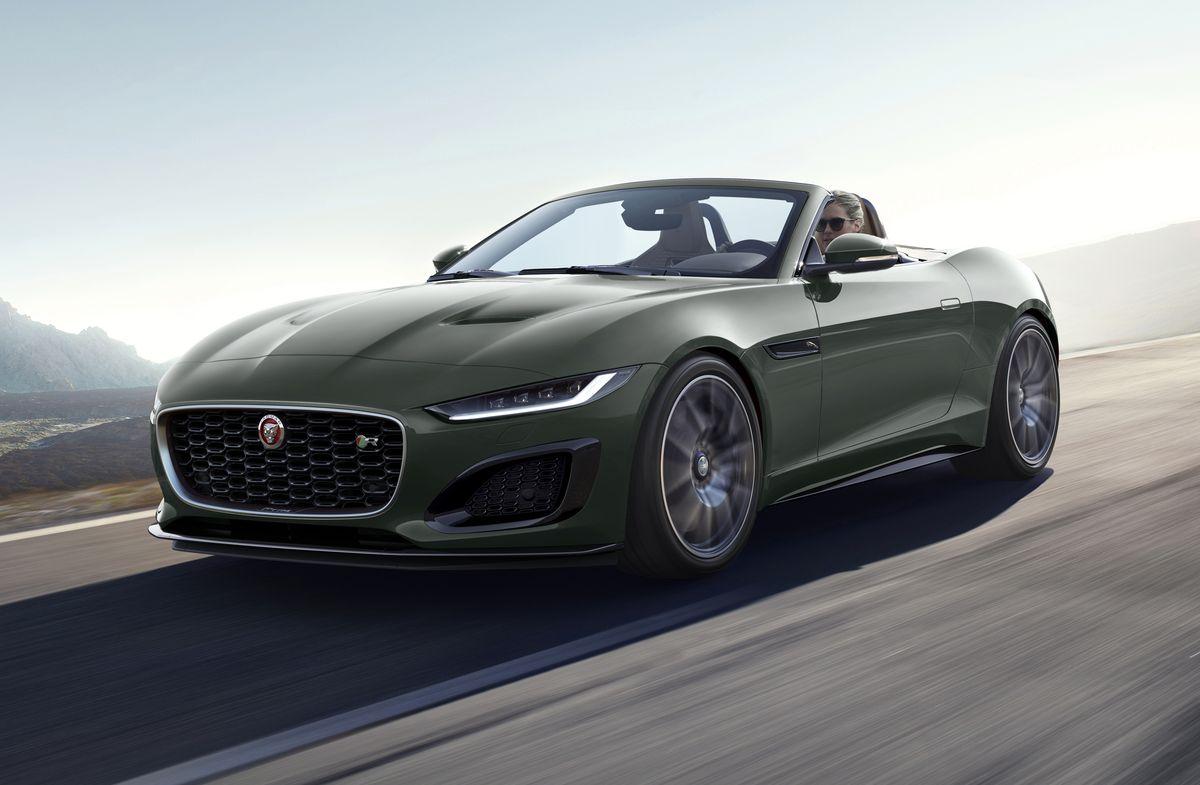 "Historie pur: Die Jaguar F-Type ""Heritage 60 Edition ..."