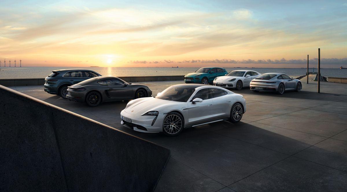 911,- Corona-Euro für jeden Online-Porsche
