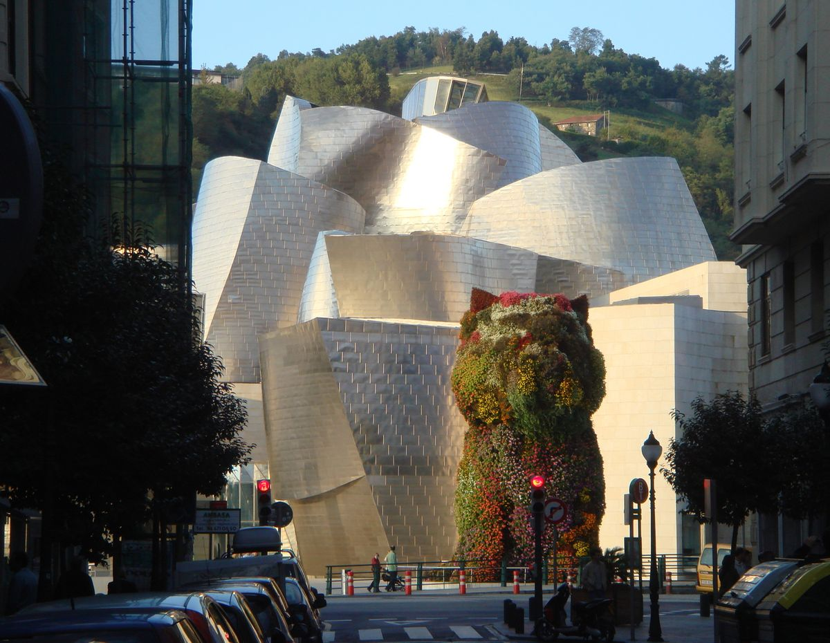 Guggenheim Museum in Bilbao, Frank O. Gehry