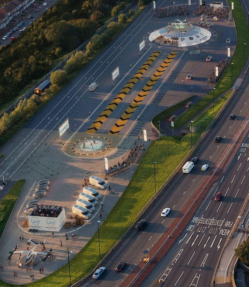 Geplanter Small-Urban-Airport im Zentrum von Coventry