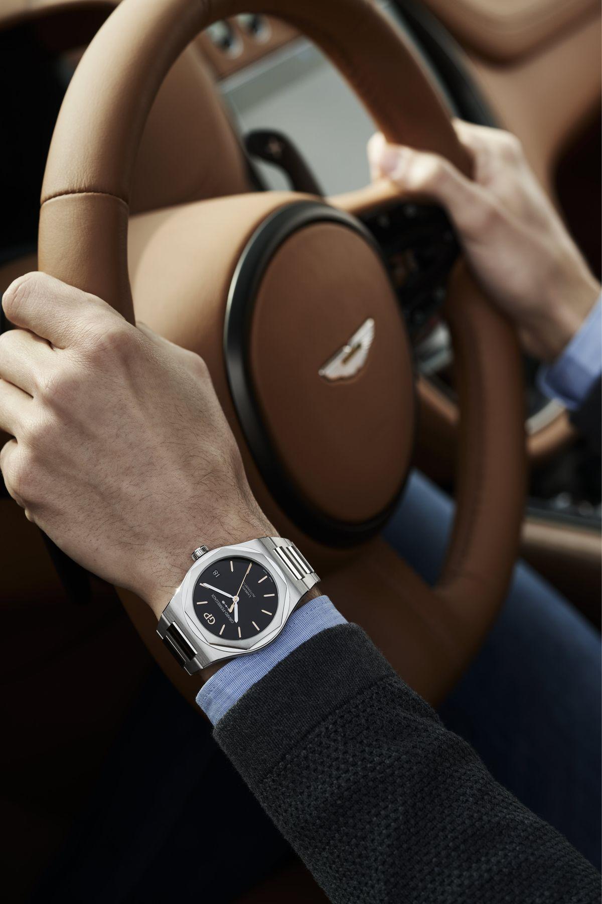 Girard-Perregaux ist Uhrenpartner von Aston Martin