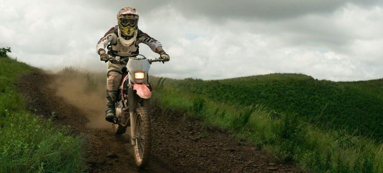 Motocross-Bike