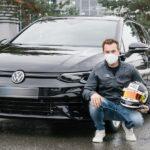 Benjamin Leuchter fährt Golf R