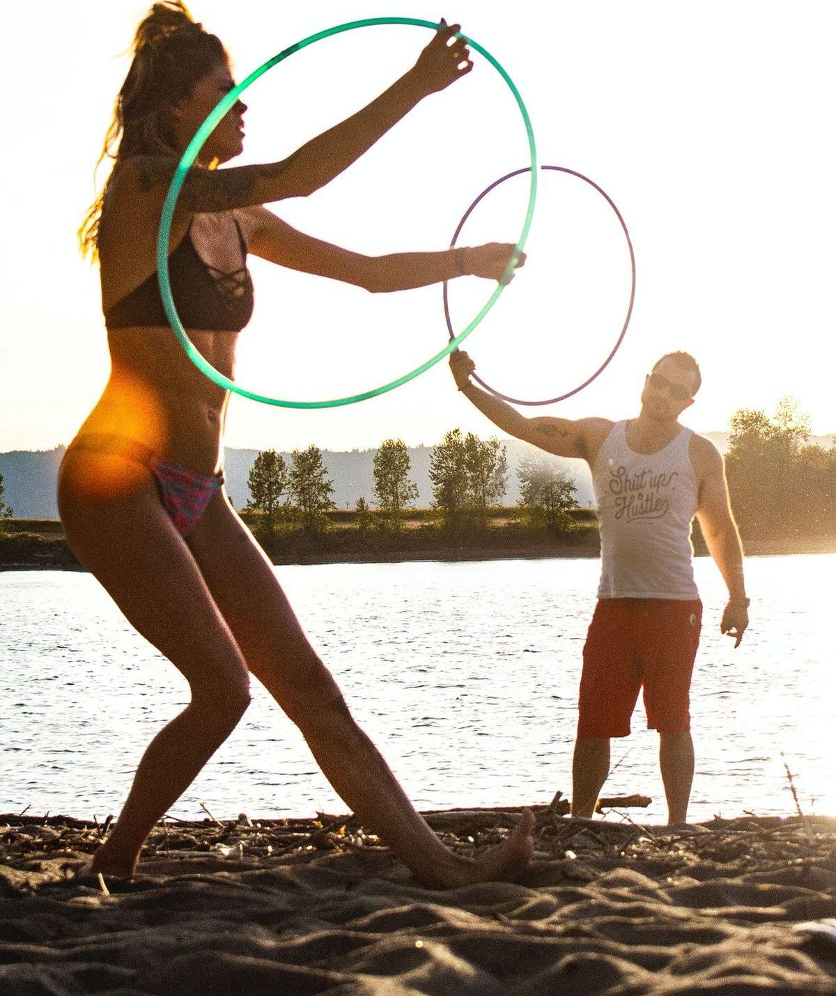 Hula-Hoop ist voll im Trend