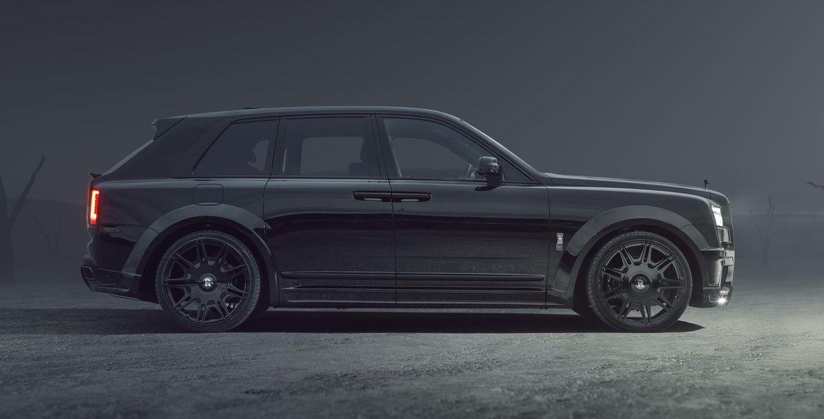 Rolls-Royce Black Badge Cullinan by Spofec