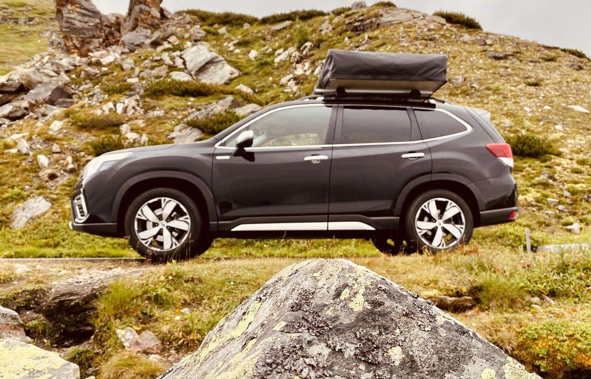 Subaru Forester E-Boxer mit Dachzelt von Horntools