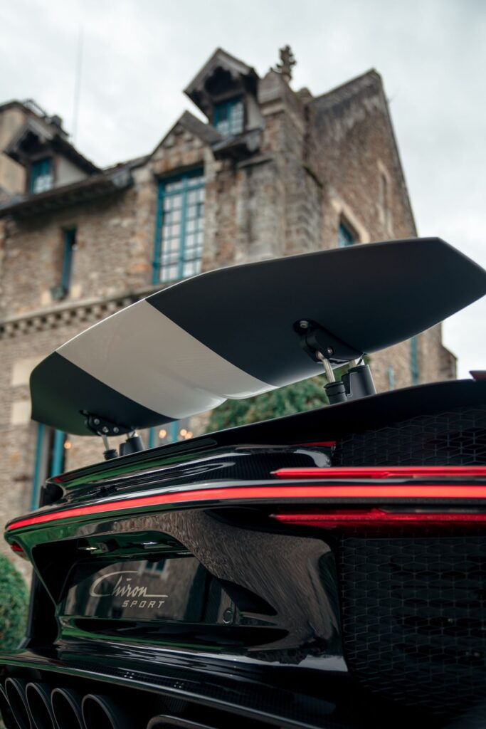 Bugatti-Test in Frankreich