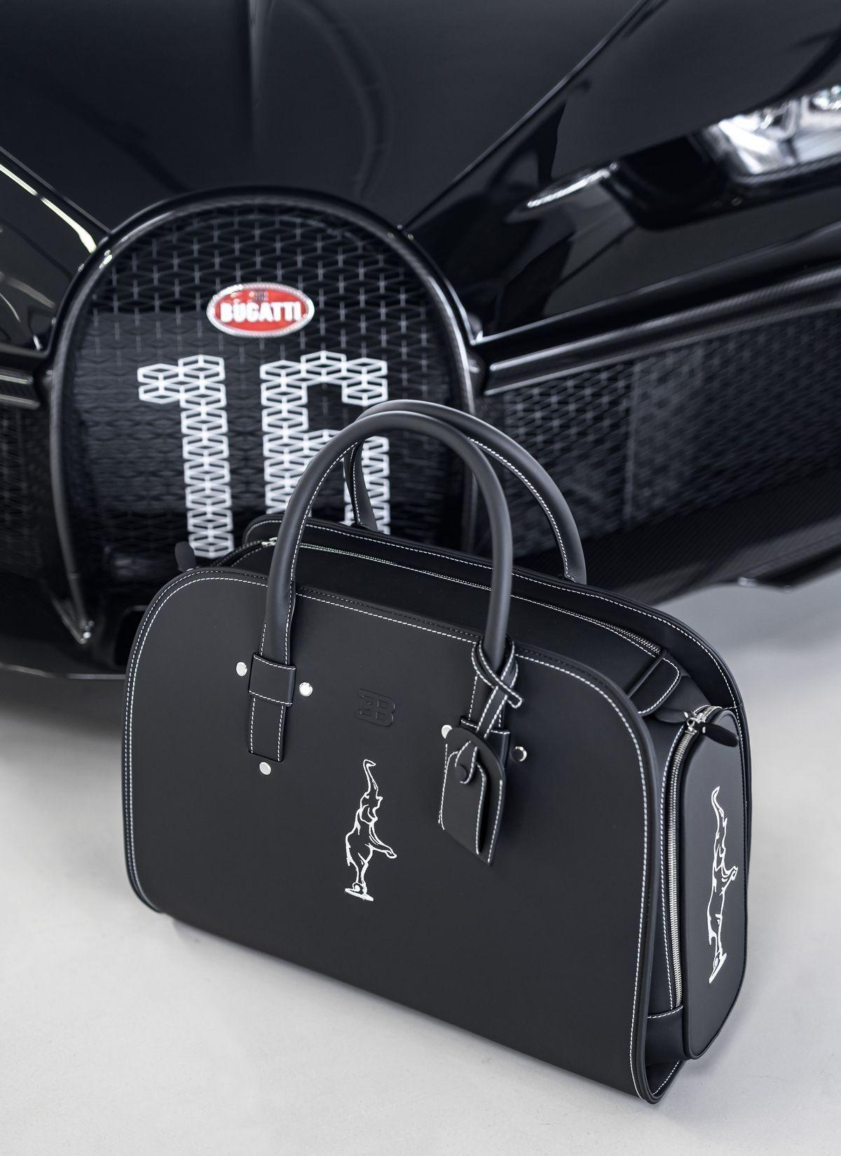 Reisegepäck für den Chiron: Bugatti by Schedoni