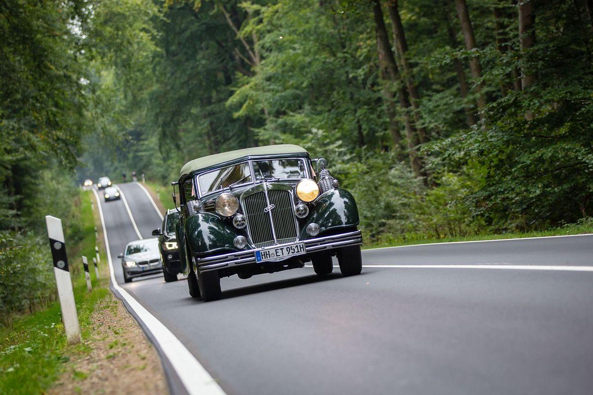Hamburg Car Classics Oldtimer-Rallye