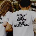 Impress your Parents – wear Helmut Lang