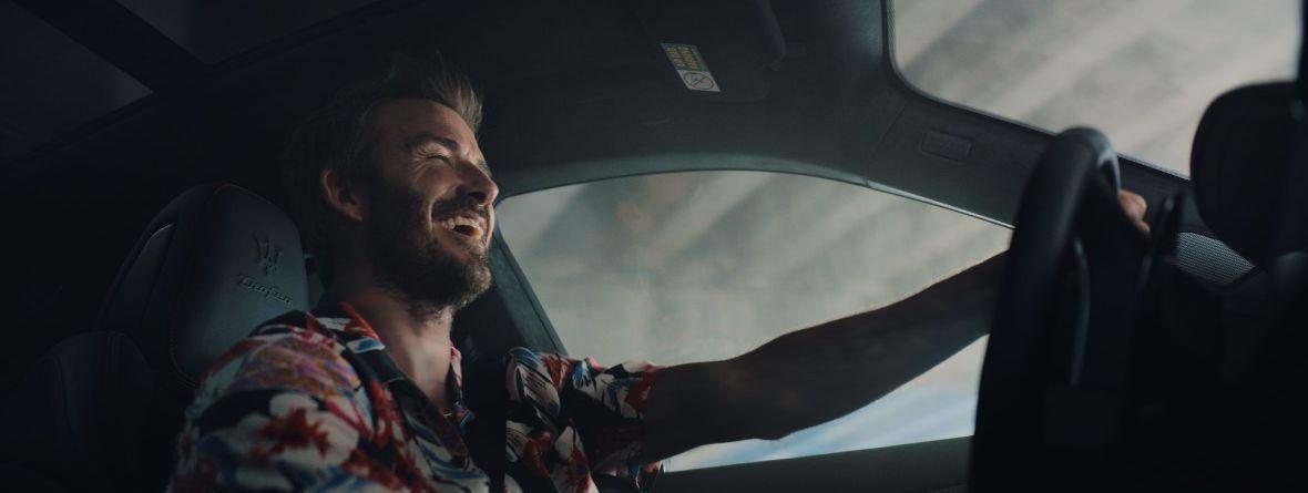 David Beckham ist Markenbotschafter von Maserati