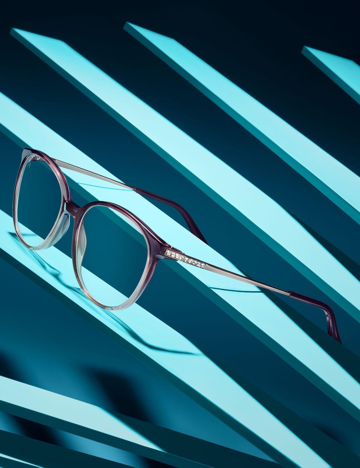Rodenstock-Brille mit Swarovski-Kristallen