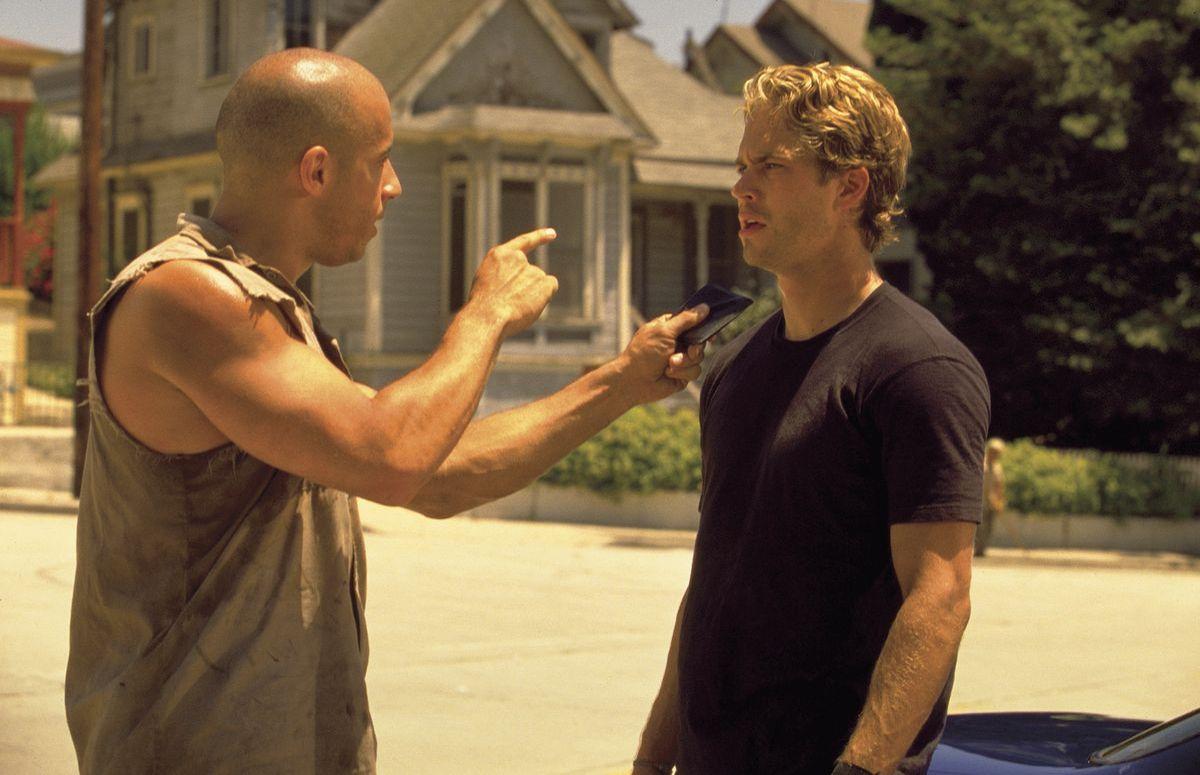 The Fast & the Furious: Vin Diesel, Paul Walker