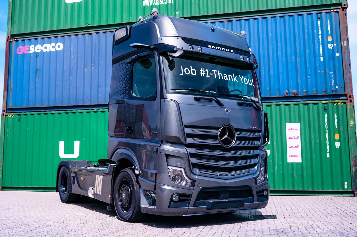 Actros Limited Edition 2