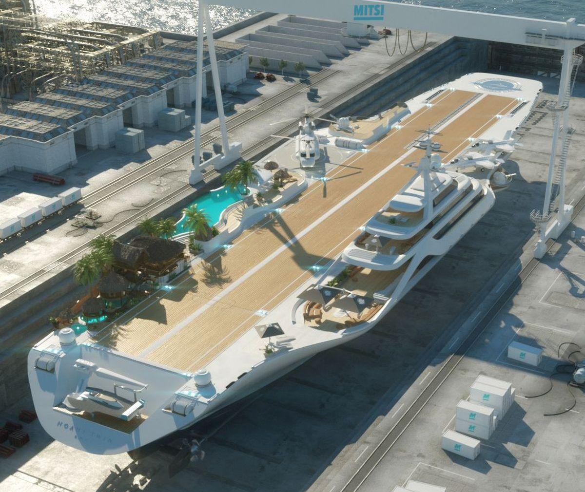 Flugzeugträger als Öko-Investment