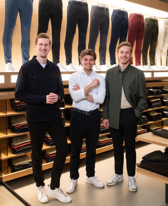 Shaping New Tomorrow - die Gründer Kasper, ChristoffeShaping New Tomorrow - die Gründer Kasper Ulrich, Christoffer Bak und Christian Aachmanr und Christian