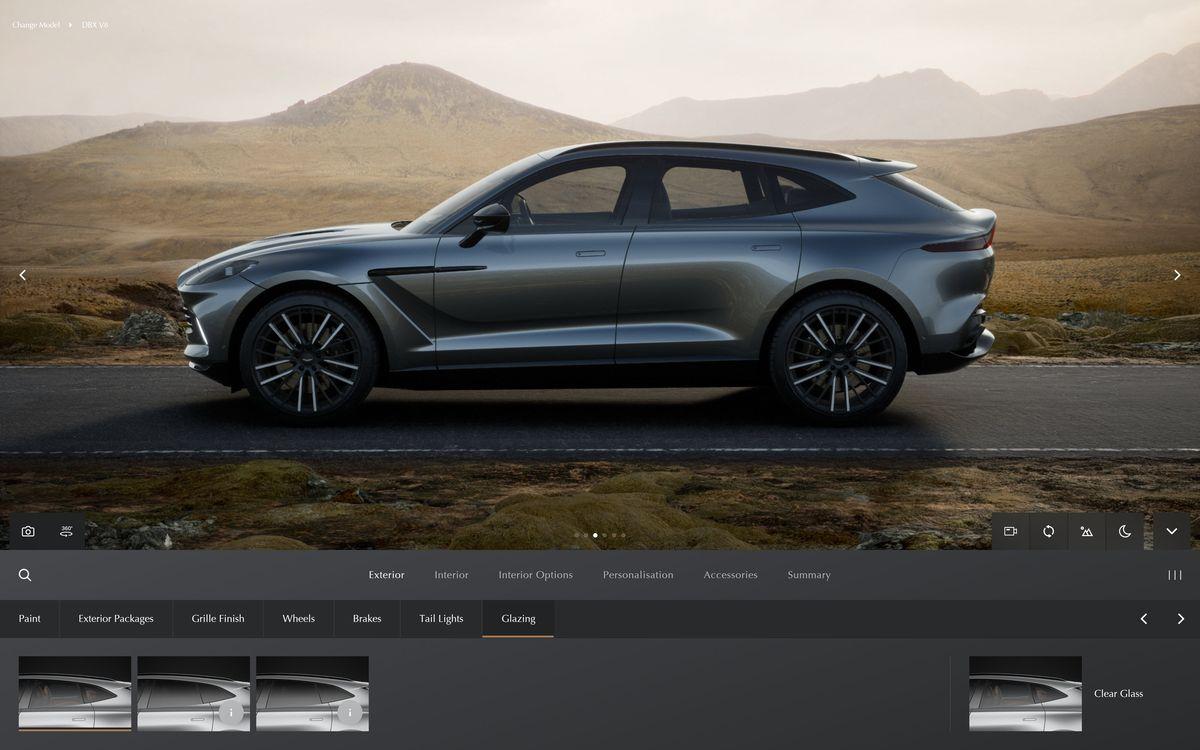 Aston Martin bringt neuen Online-Konfigurator heraus