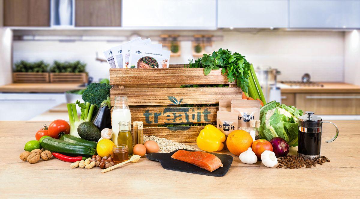 Treat it - die gesunden Kochboxen für das eigene Zuhause