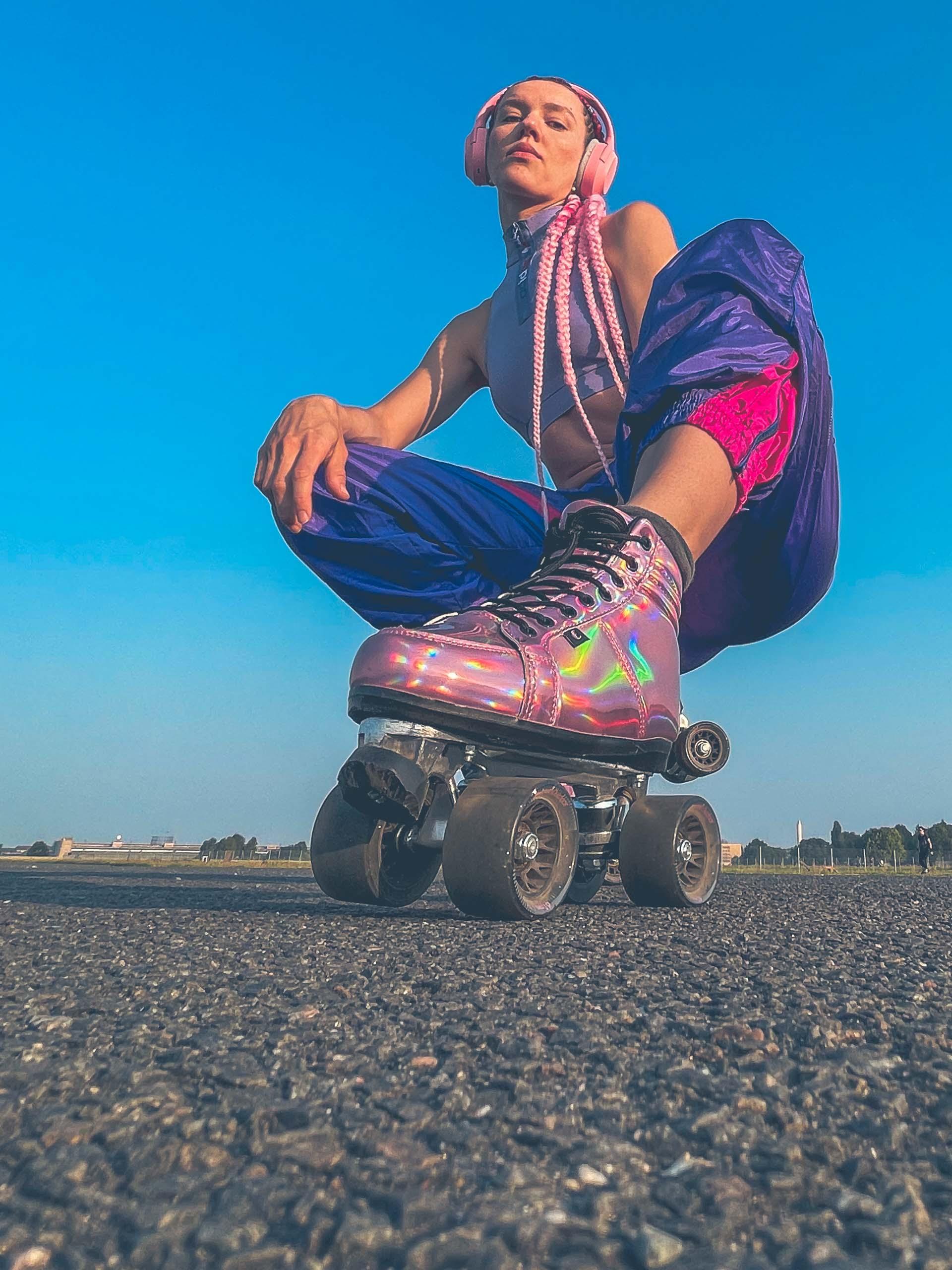 Chaya Skates - Razer Opus X (pink) - Nastya Rollerskates
