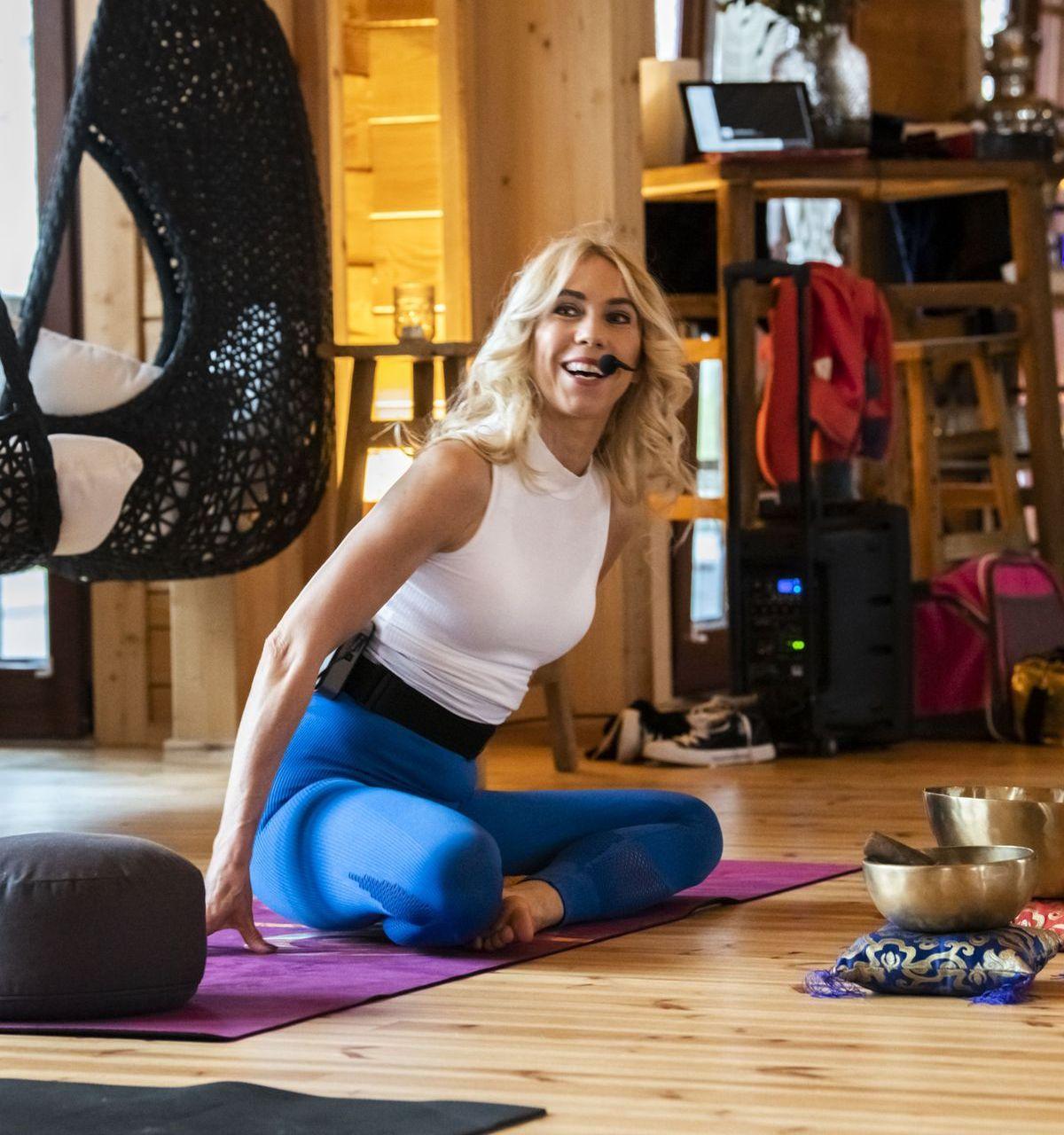Seehotel Niedernberg: Yoga-Retreat mit Jane Uhlig