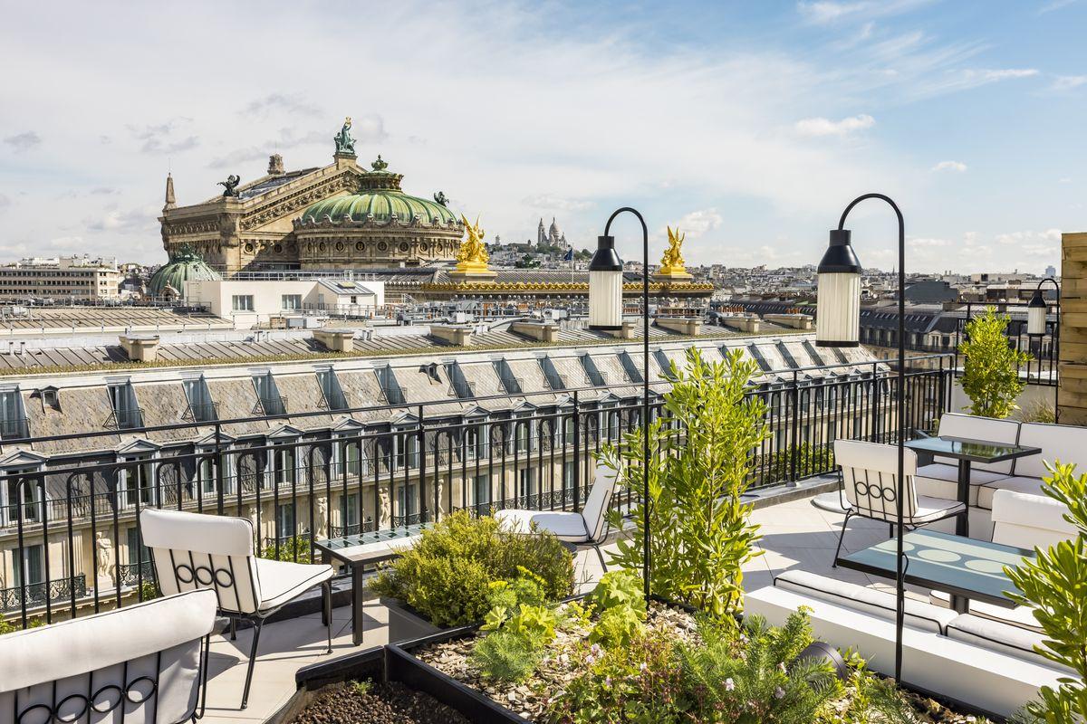 Dachterrasse - Kimpton St Honoré Paris