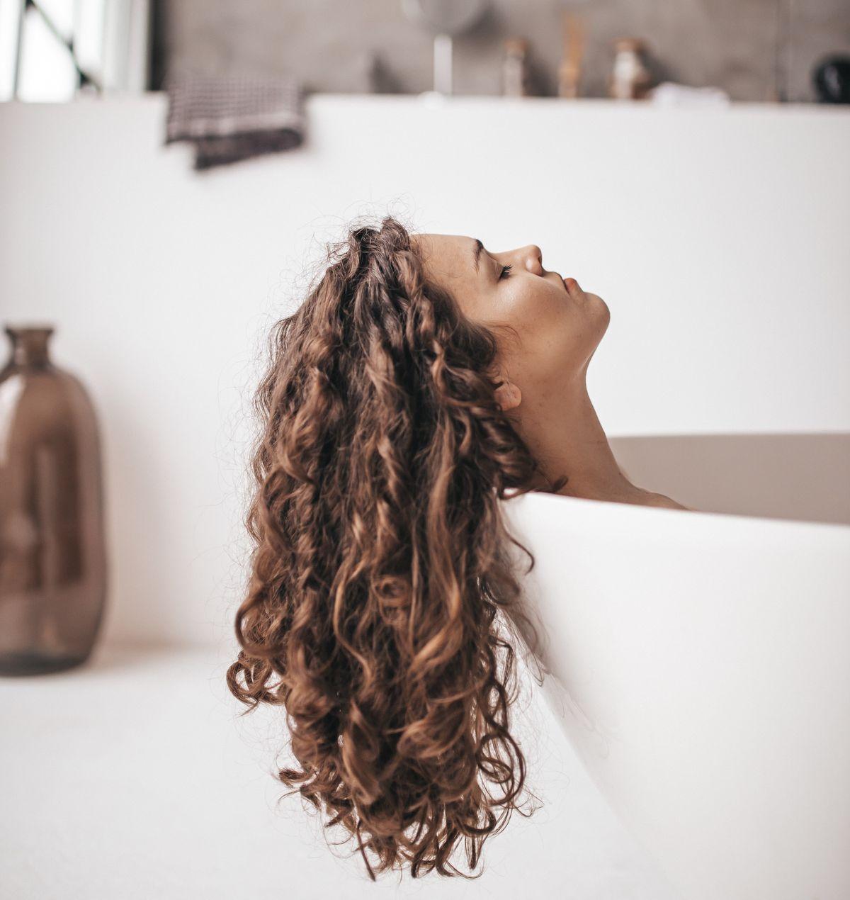 Gesundes und glänzendes Haar
